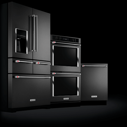 Black Stainless Kitchen Suite